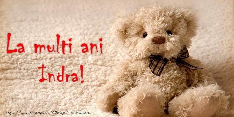 Felicitari de la multi ani - Indra Te iubesc!
