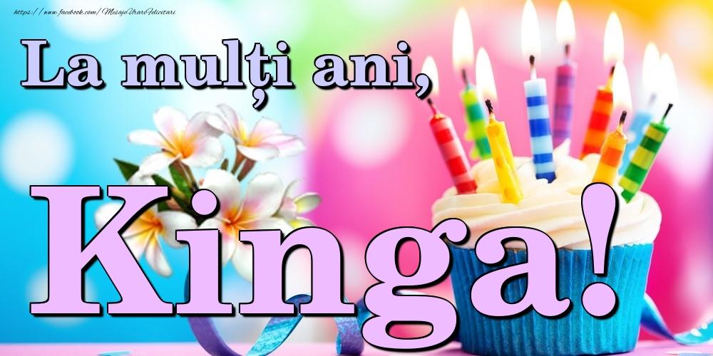Felicitari de la multi ani - La mulți ani, Kinga!
