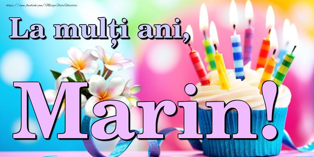 Felicitari de la multi ani - La mulți ani, Marin!