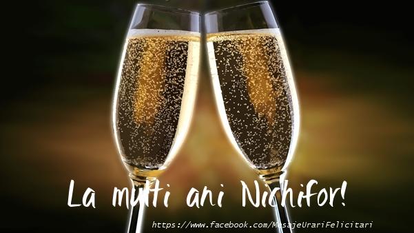 Felicitari de la multi ani - La multi ani Nichifor!