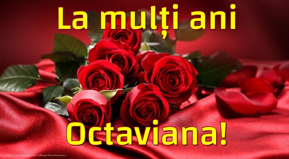 Felicitari de la multi ani - La mulți ani Octaviana!