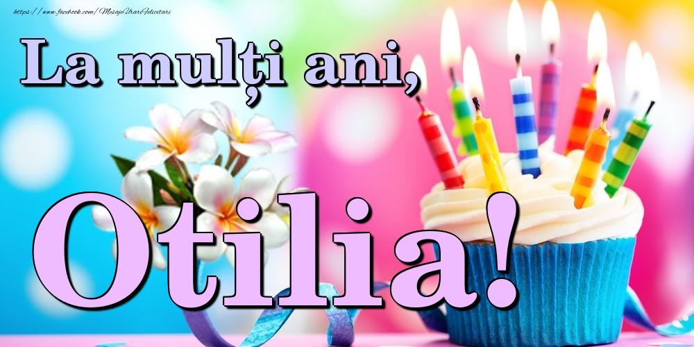 Felicitari de la multi ani - La mulți ani, Otilia!