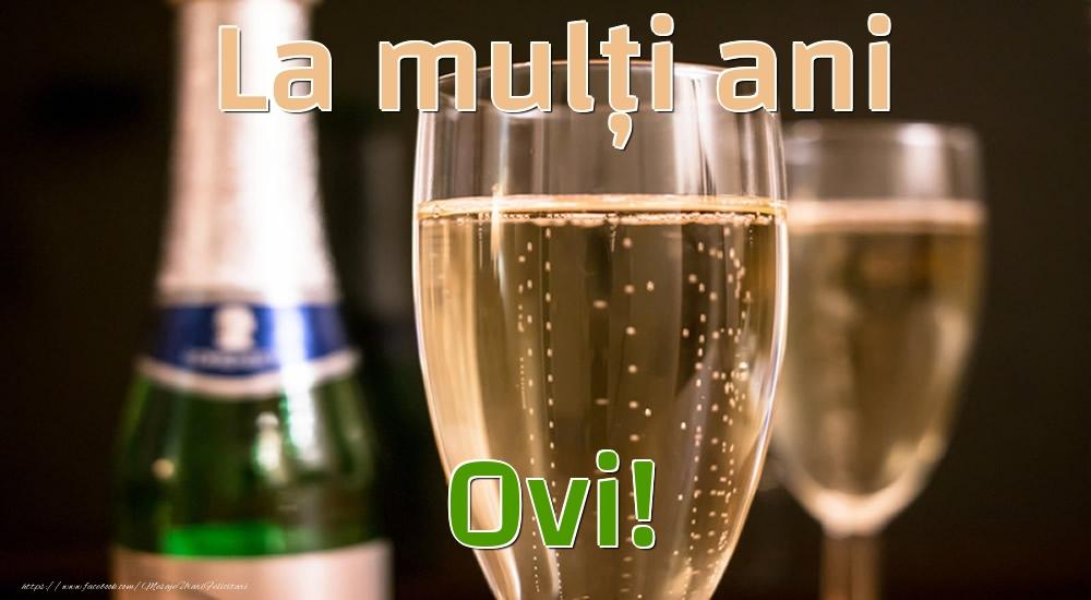 Felicitari de la multi ani - La mulți ani Ovi!