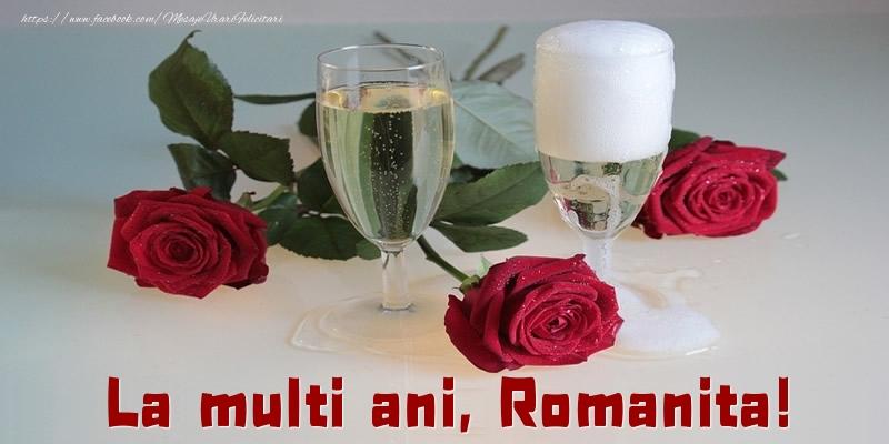 Felicitari de la multi ani - La multi ani, Romanita!