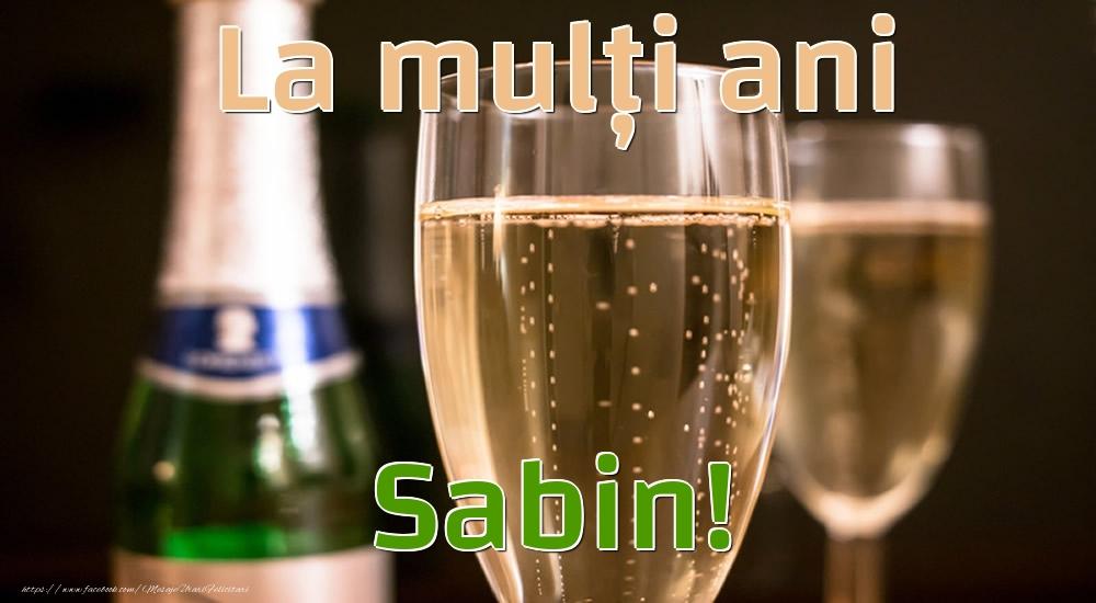 Felicitari de la multi ani - La mulți ani Sabin!