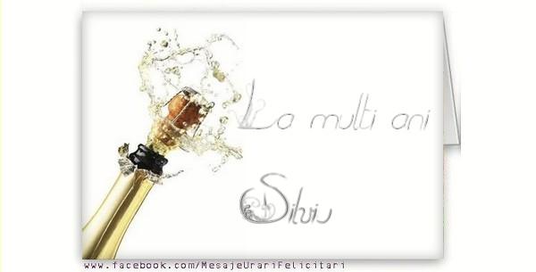 Felicitari de la multi ani - La multi ani, Silviu