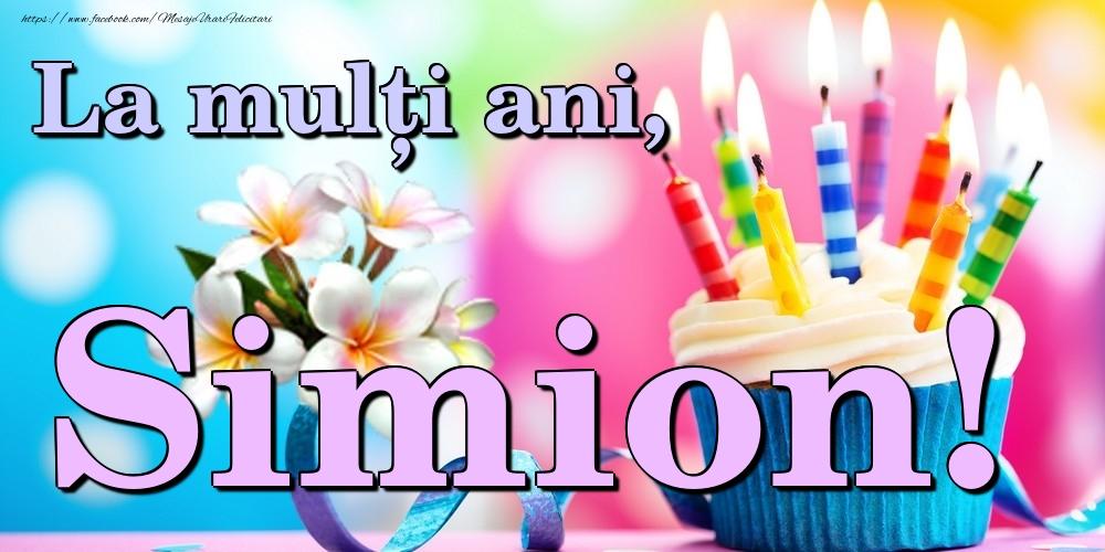 Felicitari de la multi ani - La mulți ani, Simion!