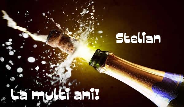 Felicitari de la multi ani - Stelian La multi ani!