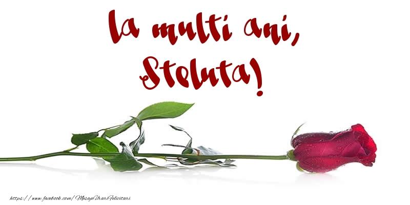Felicitari de la multi ani - La multi ani, Steluta!