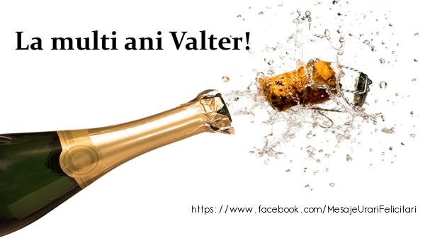 Felicitari de la multi ani - La multi ani Valter!