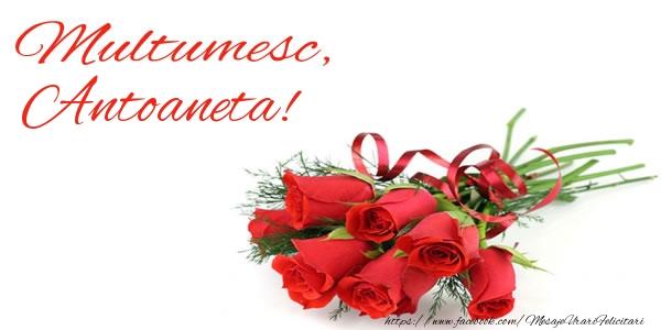 Felicitari de multumire - Multumesc, Antoaneta!