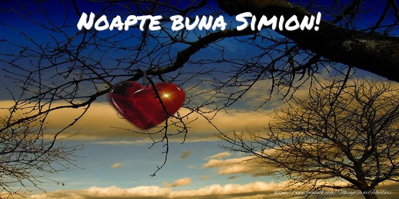 Felicitari de noapte buna - Noapte buna Simion!