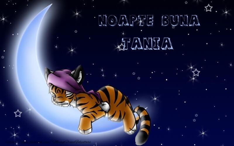 Felicitari de noapte buna - Noapte buna Tania