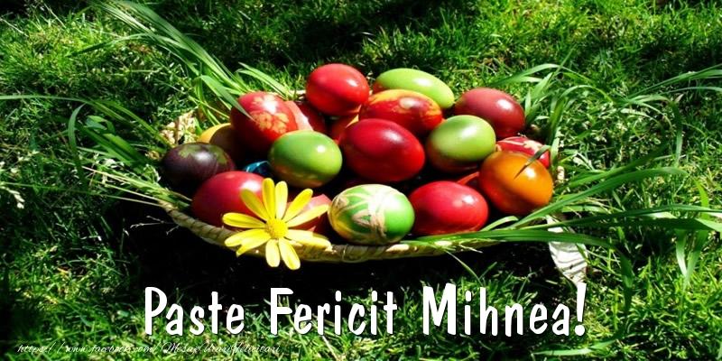 Felicitari de Paste - Paste Fericit Mihnea!