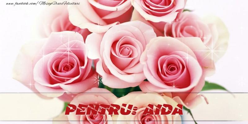 Felicitari de prietenie - Pentru Aida