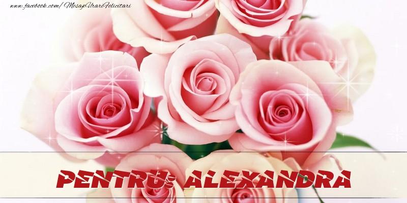 Felicitari de prietenie - Pentru Alexandra