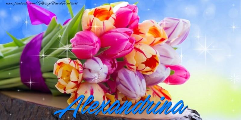 Felicitari de prietenie - Alexandrina