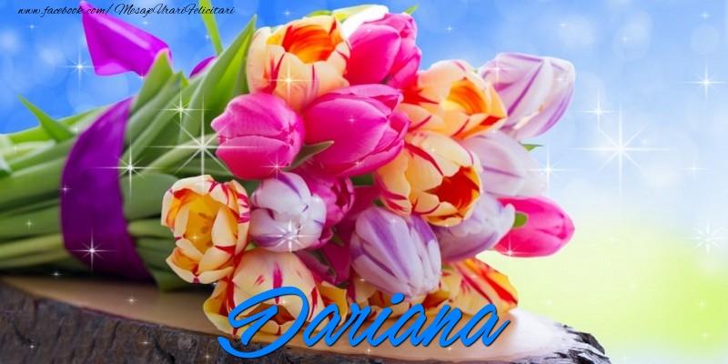 Felicitari de prietenie - Dariana