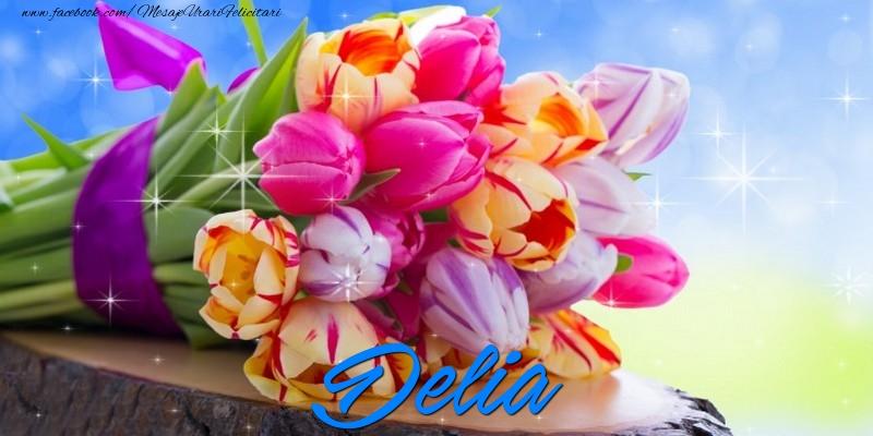 Felicitari de prietenie - Delia