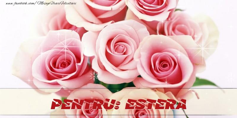 Felicitari de prietenie - Pentru Estera