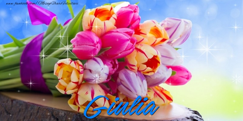 Felicitari de prietenie - Giulia