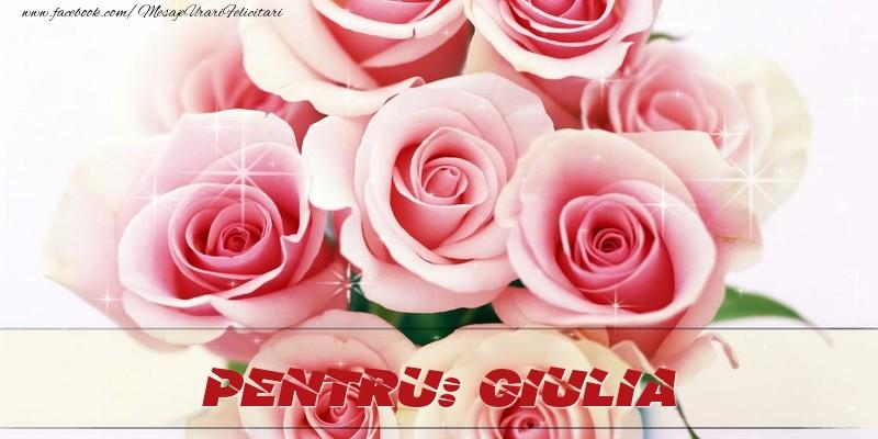 Felicitari de prietenie - Pentru Giulia