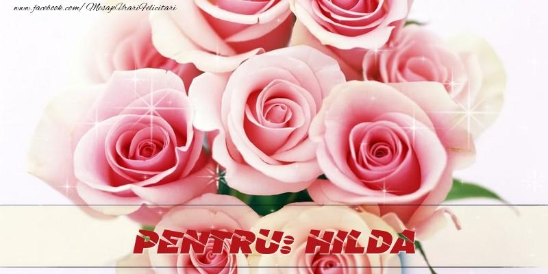 Felicitari de prietenie - Pentru Hilda