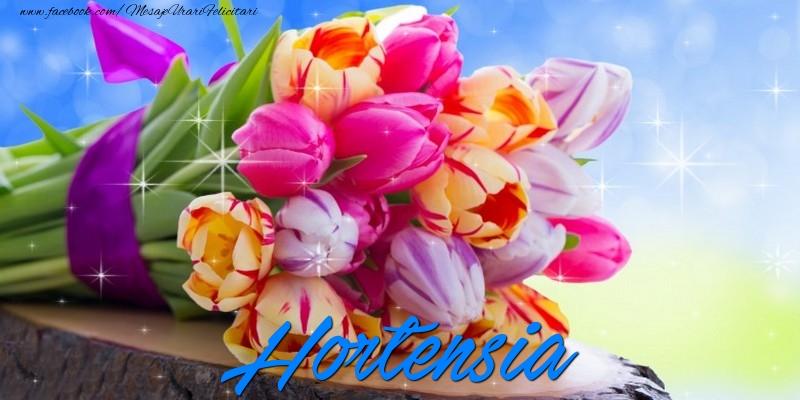 Felicitari de prietenie - Hortensia