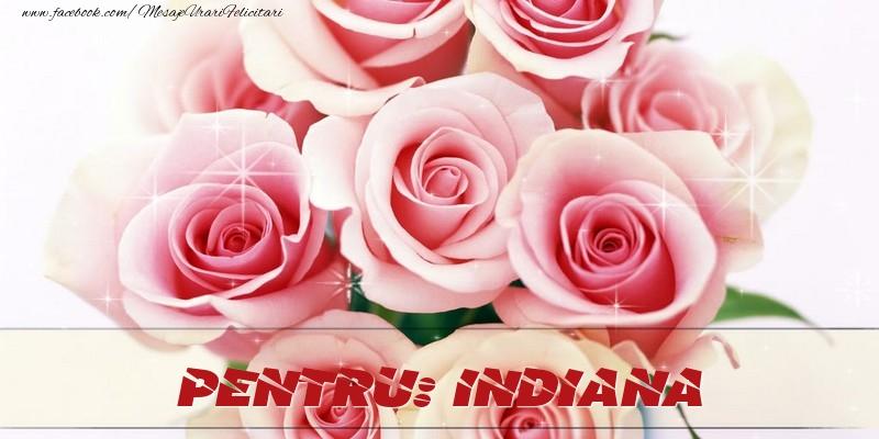 Felicitari de prietenie - Pentru Indiana
