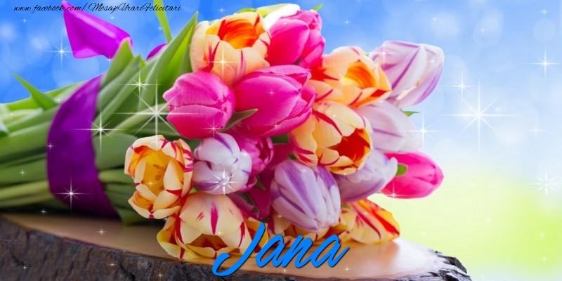 Felicitari de prietenie - Jana