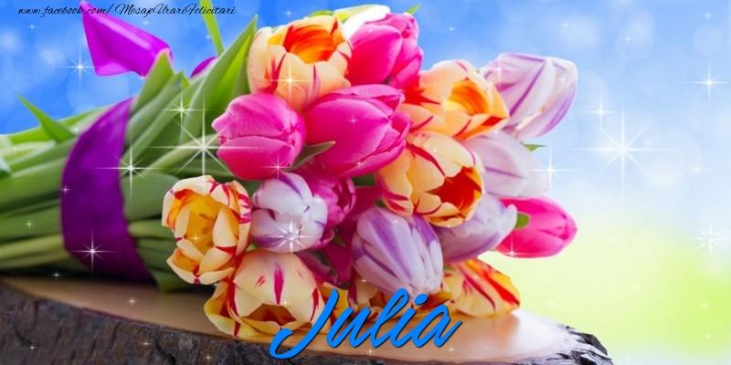 Felicitari de prietenie - Julia