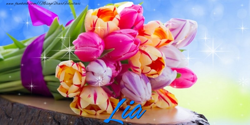 Felicitari de prietenie - Lia