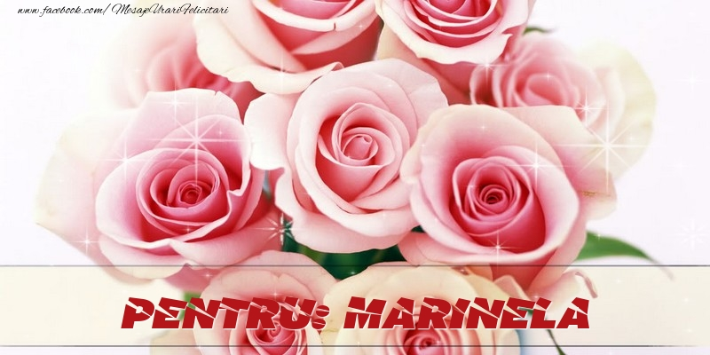 Felicitari de prietenie - Pentru Marinela