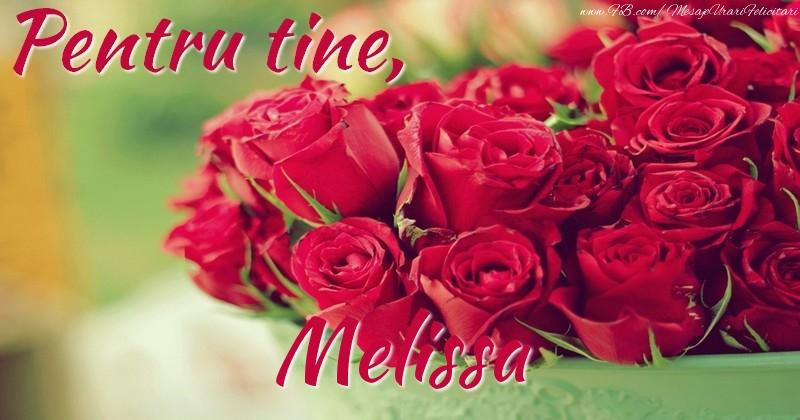 Felicitari de prietenie - Pentru tine, Melissa