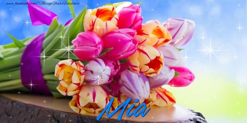 Felicitari de prietenie - Mia