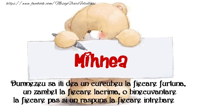 Felicitari de prietenie - Mesaj pentru prieteni! Mihnea