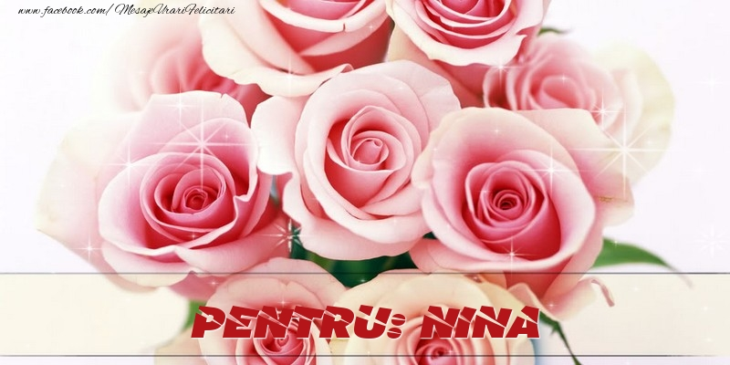 Felicitari de prietenie - Pentru Nina