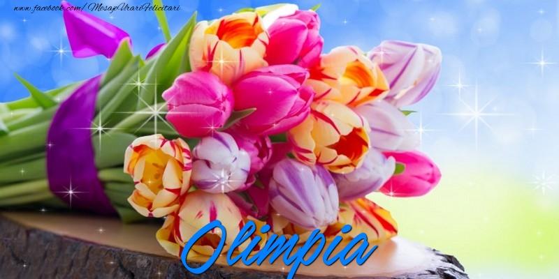 Felicitari de prietenie - Olimpia