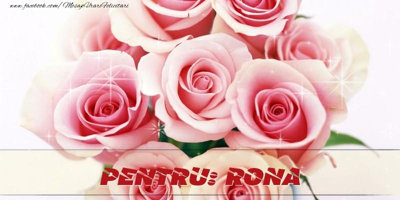 Felicitari de prietenie - Pentru Rona