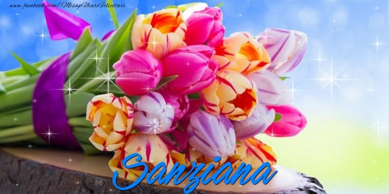 Felicitari de prietenie - Sanziana