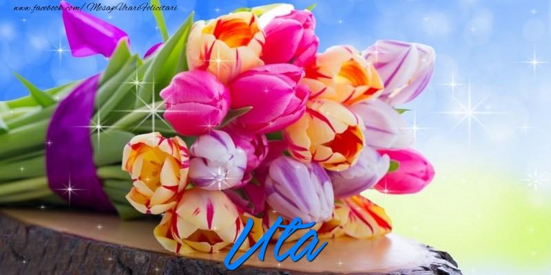 Felicitari de prietenie - Uta