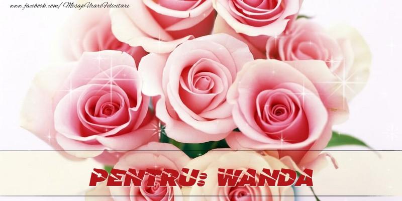 Felicitari de prietenie - Pentru Wanda