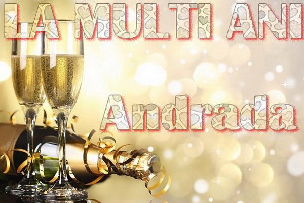 Felicitari de Sfantul Andrei - La multi ani Andrada