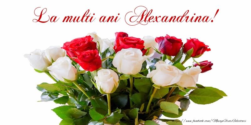 Felicitari de zi de nastere - La multi ani Alexandrina!