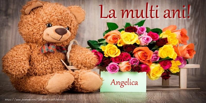 Felicitari de zi de nastere - La multi ani! Angelica