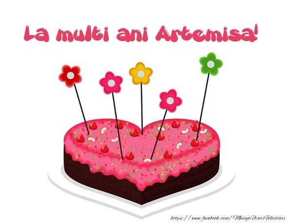 Felicitari de zi de nastere - La multi ani Artemisa!