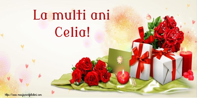 Felicitari de zi de nastere - La multi ani Celia!