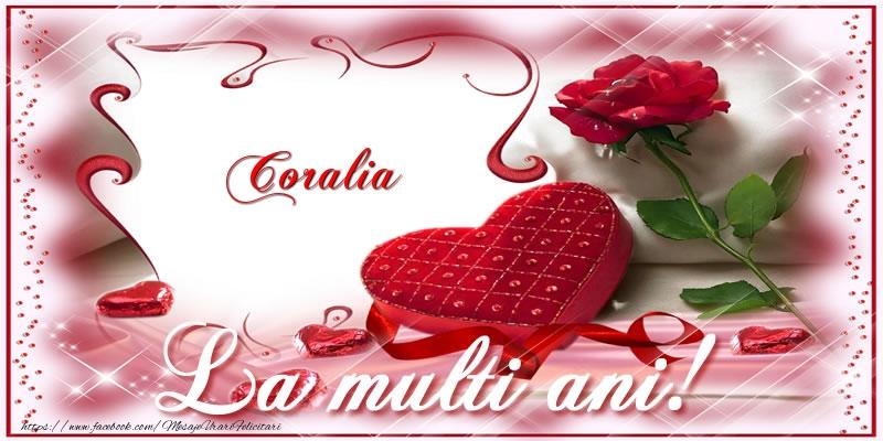 Felicitari de zi de nastere - Coralia La multi ani!