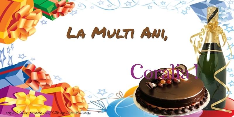 Felicitari de zi de nastere - La multi ani Coralia! 30 de ani