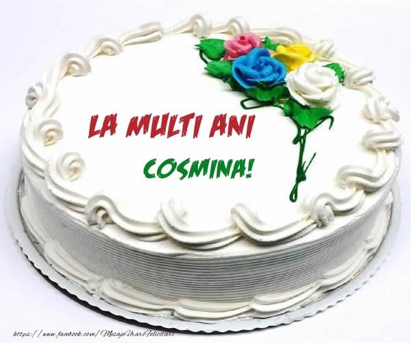 Felicitari de zi de nastere - La multi ani Cosmina!